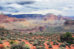 Grand Canyon aerial view landscape. Royalty Free Stock Photos