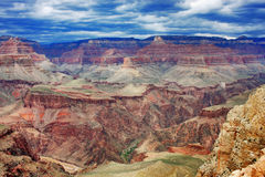 Grand Canyon aerial view landscape. Royalty Free Stock Photography