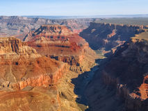 Grand Canyon, aerial view Stock Images
