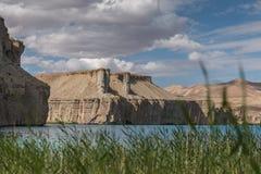 Grand canyon of afghanistan. Afghanistan - lake band-e-amir Stock Image