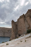 Grand canyon of afghanistan. Afghanistan - lake band-e-amir Royalty Free Stock Images