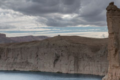 Grand canyon of afghanistan. Afghanistan - lake band-e-amir Royalty Free Stock Photography