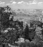 Grand Canyon Afternoon. This image was captured on a lazy, hazy spring afternoon in the Grand Canyon Stock Images