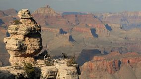 Grand Canyon Afternoon. Late afternoon light at Lipan Point in Grand Canyon National Park, Arizona Stock Image