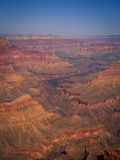 Grand Canyon Afternoon. Afternoon on the South Rim trail Grand Canyon National Park royalty free stock photography