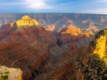 Grand Canyon al tramonto Fotografia Stock Libera da Diritti