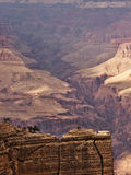 Grand Canyon amazing perspective Royalty Free Stock Images