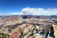 Grand Canyon, America. Grand Canyon landscape in Arizona, United States. Yavapai Point overlook royalty free stock photography