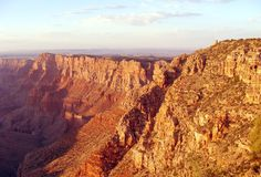 Grand Canyon antes do por do sol Foto de Stock