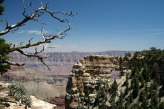 Grand Canyon Arch. Overlook royalty free stock image