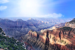 Grand Canyon Arizona Royaltyfria Bilder