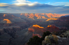 Grand Canyon Arizona Fotografia Stock