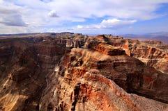 GRAND CANYON, ARIZONA, AZ, USA: Ein Panoramablick des Nationalparks Grand Canyon s Lizenzfreies Stockbild