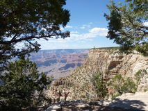 Grand Canyon Arizona - Mei 2013 Royalty-vrije Stock Fotografie