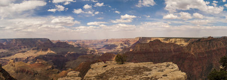 Grand Canyon Arizona Panorama. The Grand Canyon in Arizona USA. Looking from the South Rim Royalty Free Stock Photography