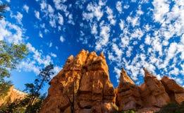 Grand Canyon, Arizona, paysage de perspective en automne au lever de soleil Photographie stock libre de droits