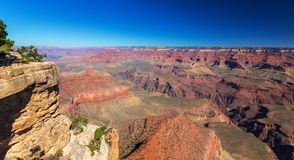 Grand Canyon, Arizona, perspective scenery in autumn at sunrise Stock Photos