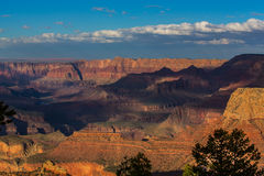 Grand Canyon, Arizona, scenery, profiled on sunset sky Stock Photo