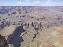 Grand Canyon in Arizona. Sunny aerial view at the Grand Canyon National Park in Arizona, USA Royalty Free Stock Photos