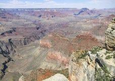 Grand Canyon in Arizona. Sunny aerial view at the Grand Canyon National Park in Arizona, USA Royalty Free Stock Photography