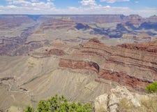 Grand Canyon in Arizona. Sunny aerial view at the Grand Canyon National Park in Arizona, USA Stock Photography