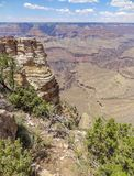 Grand Canyon in Arizona. Sunny aerial view at the Grand Canyon National Park in Arizona, USA Royalty Free Stock Photo