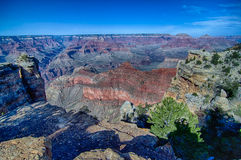 Grand canyon arizona on a sunny day in psring Stock Photography