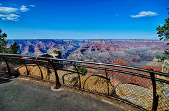 Grand canyon arizona on a sunny day in psring Stock Photos