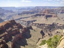 Grand Canyon in Arizona. Sunny scenery at the Grand Canyon National Park in Arizona, USA Royalty Free Stock Images