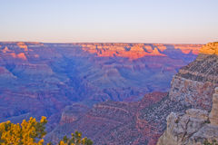 Grand Canyon Arizona sunset Royalty Free Stock Photos