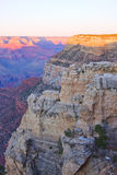 Grand Canyon Arizona sunset Stock Images