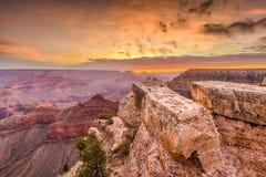 Grand Canyon, Arizona, USA at Dawn Royalty Free Stock Photography