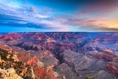 Grand Canyon, Arizona, USA From The South Rim Royalty Free Stock Photos