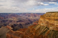 Grand Canyon Arizona. The Grand Canyon in Arizona USA. Looking from the South Rim Stock Photo