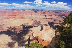 Grand Canyon, Arizona. View of the panorama Grand Canyon, Arizona Stock Image