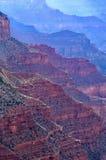 Grand Canyon as bordas das montanhas Imagens de Stock