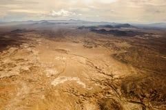 Grand Canyon aterra a vista Imagens de Stock
