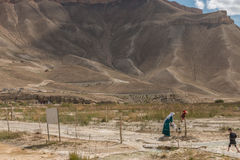 Grand Canyon av Afghanistan Fotografering för Bildbyråer