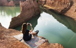 Grand Canyon av Chiang Mai Thailand arkivbild