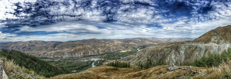 Grand Canyon Baihaba Panorama Royalty Free Stock Image