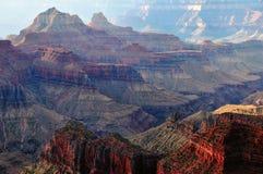 Grand Canyon bei Sonnenaufgang Stockfotografie