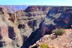 Grand Canyon berühmter WestEagle Point Schöner Naturhintergrund Stockbild