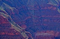 Grand Canyon bergen Arkivfoto