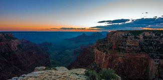 Grand Canyon, borda norte, o Arizona, Estados Unidos da América fotografia de stock