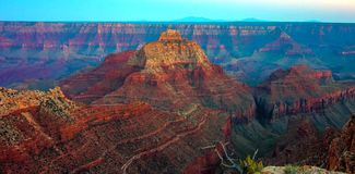 Grand Canyon, borde del norte, Arizona, los Estados Unidos de América imagen de archivo libre de regalías