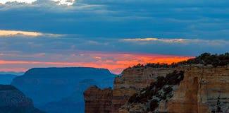 Grand Canyon, borde del norte, Arizona, los Estados Unidos de América foto de archivo