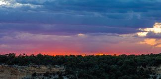 Grand Canyon, borde del norte, Arizona, los Estados Unidos de América fotografía de archivo libre de regalías