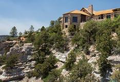 Grand Canyon brengt het Noordenrand onder stock fotografie