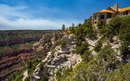 Grand Canyon brengt het Noordenrand onder stock foto