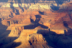 Grand Canyon from Bright Angel Lodge royalty free stock photography